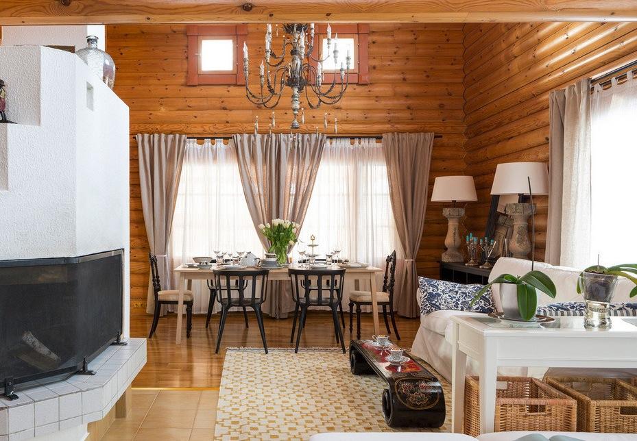 Как обустроить деревянный дом из бруса: 10 лучших идей
