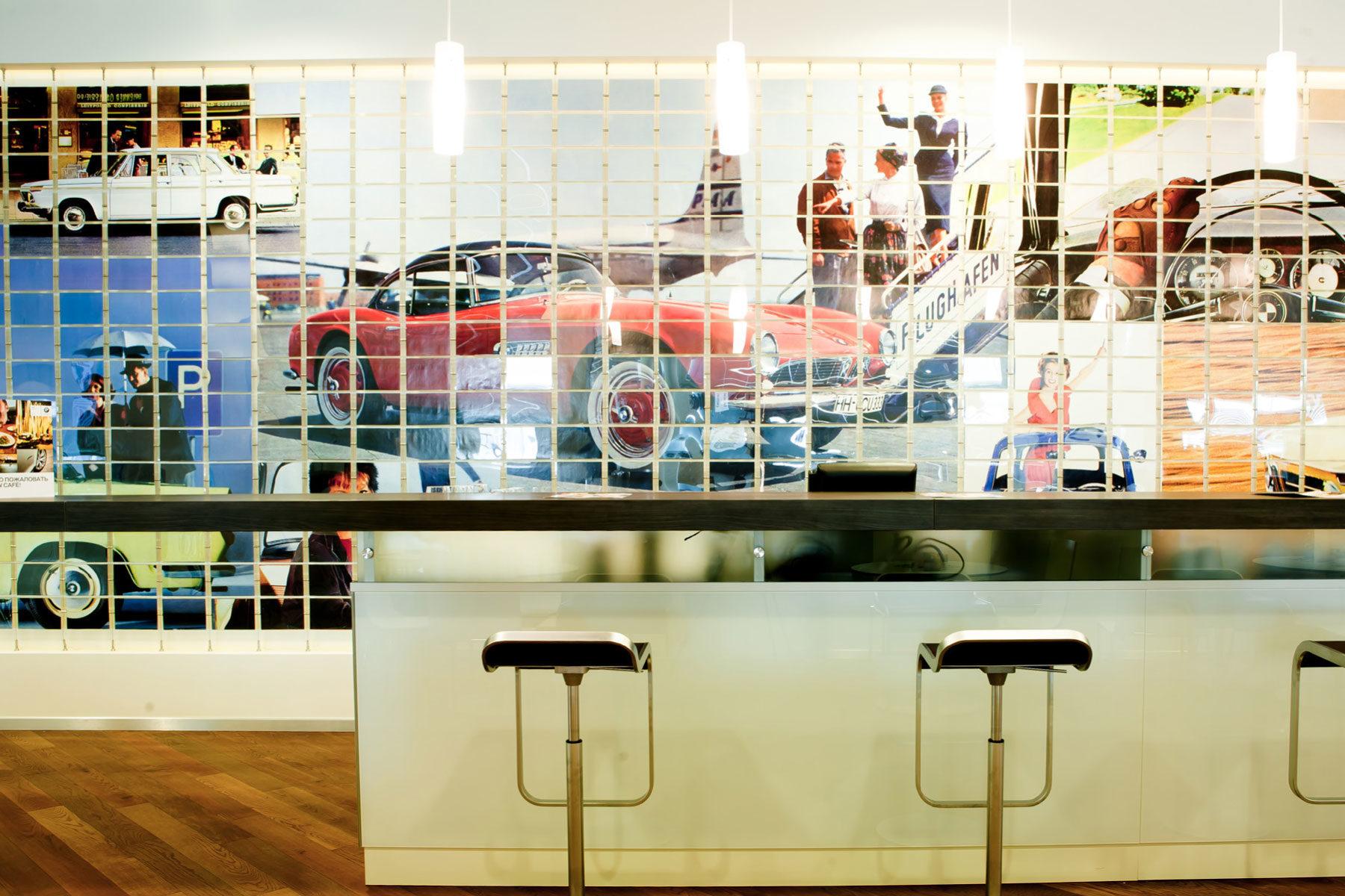 Кафетерий BMW, ДЦ BMW-Авилон