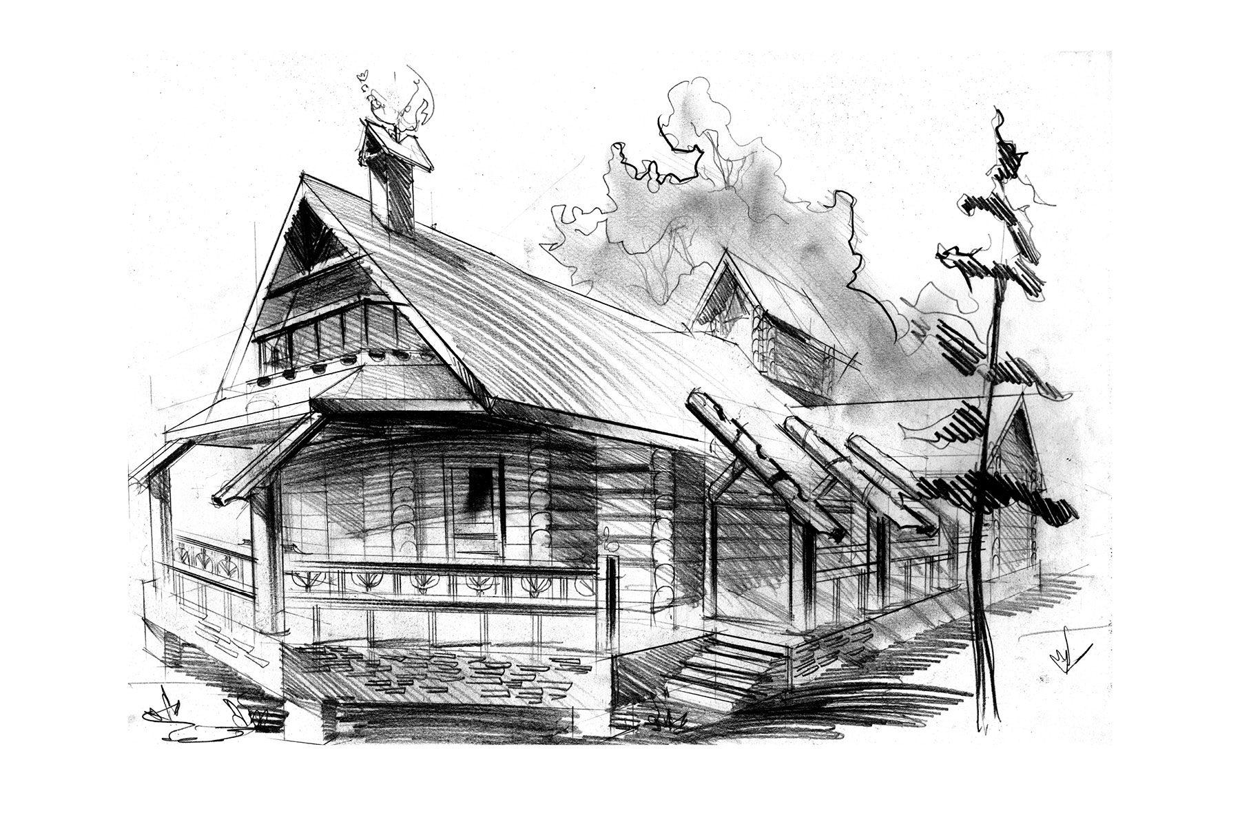 Охотничья резиденция, Артыбаш, Алтай